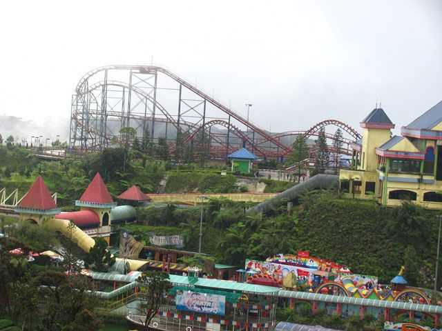 Genting Highland Outdoor Theme Park.