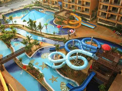 Water park di Gold Coast Morib Resort.