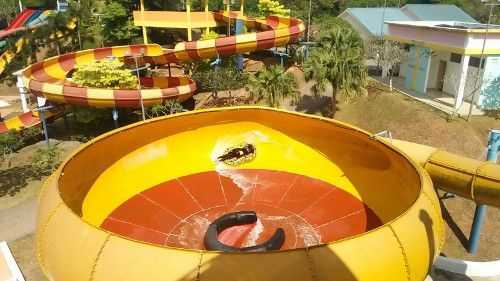 Ride At Waterpark Melaka Wonderland