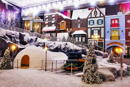 Snow World Genting Highland Theme Park.