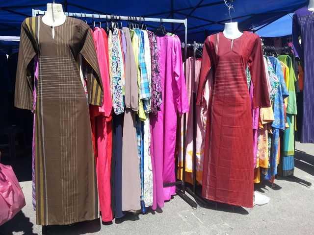 Membeli Belah Di Pasar Kemboja Pendang